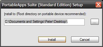 Portable Apps Installer