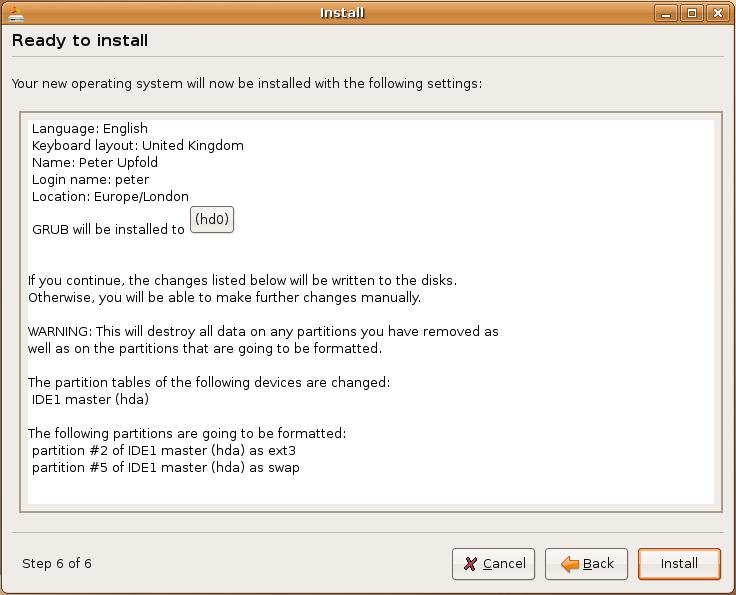 Ubuntu Install Part 5