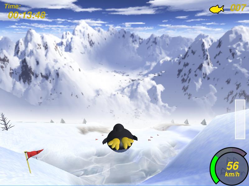 Planet Penguin Racer
