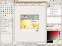 Gimp 2.3 Default Interface