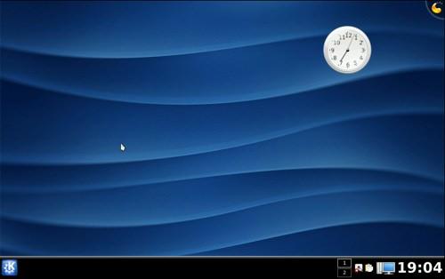 Default desktop in KDE 4