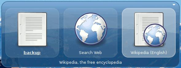 GNOME Do Wikipedia