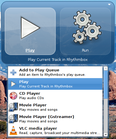 GNOME Do Rhythmbox