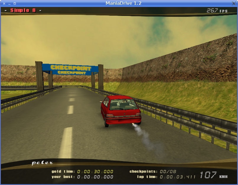 ManiaDrive screenshot