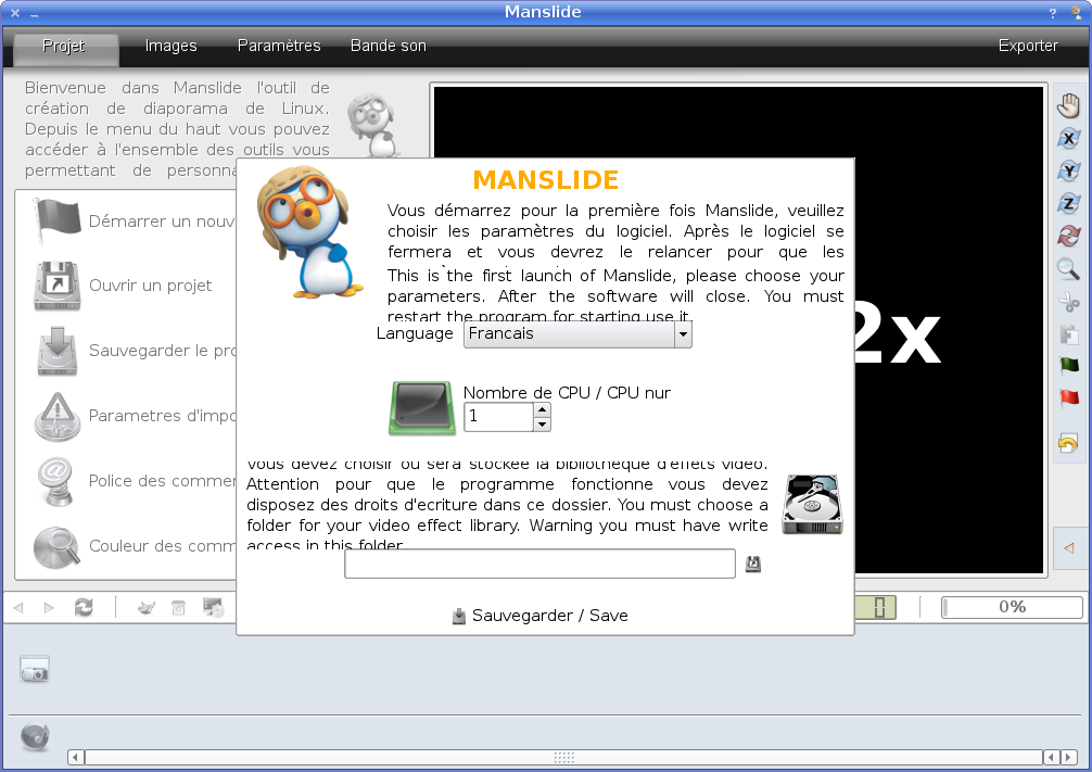 Manslide introduction screenshot