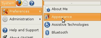 New GUI widget colours in Ubuntu