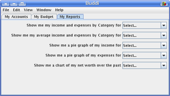 Buddi Reports