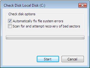 Check Disk GUI