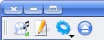 KAudioCreator toolbar
