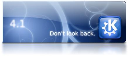 KDE 4.1 Banner