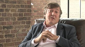 Stephen Fry advocating free software