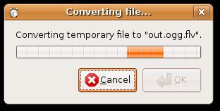 Converting file dialogue
