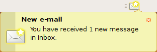 New Mail Notification