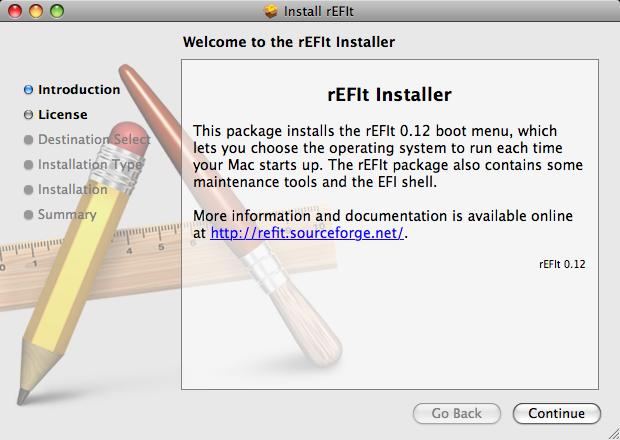 rEFIt Installer