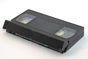 Picture of opened VHS tape from http://www.sxc.hu/photo/992499